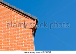 Corbelled Brick Gable End Of Red Brick House Showing Corbelling And Soldier