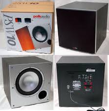 10 home theater subwoofer find more polk audio psw10 subwoofer 10