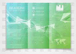 tri fold brochure design template vector image 111860 u2013 rfclipart