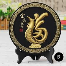 2017 lucky rooster desk ornaments for home decoration air