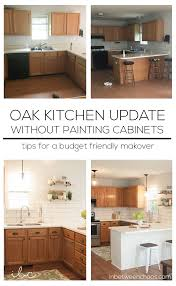 how to update honey oak kitchen cabinets update oak kitchen cabinets page 1 line 17qq