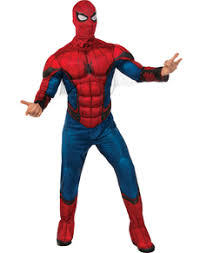 spiderman costumes a great superpower carries a great responsibility