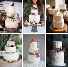 our favorite winter wedding cakes weddings ideas from evermine