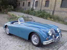 lexus breakers wolverhampton classic chrome jaguar xk150 3 4 roadster 1958 historic plate blue