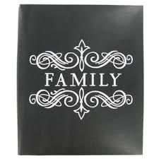 8 1 2 x 11 photo album the paper studio 8 1 2 x 11 family post bound scrapbook album