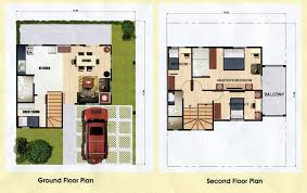 120 square meters house plan house design plans