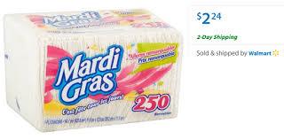 mardi gras napkins mardi gras napkins coupon 1 74 at walmart coupon