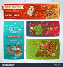 vector set merry christmas banners christmas stock vector