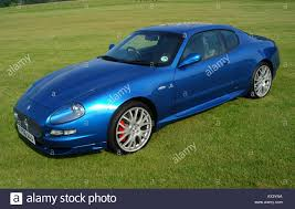 maserati green blue maserati coupe gt 2006 sports car stock photo royalty free