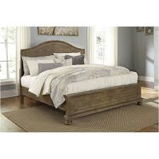 Bedroom Furniture At Ashley Furniture by B659 77 Ashley Furniture Trishley Light Brown Queen Sleigh Bed