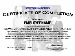 9 best images of safety training certificate template blank