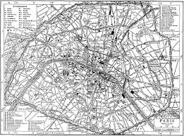 Map Of Paris France by Thiers Wall Wikipedia