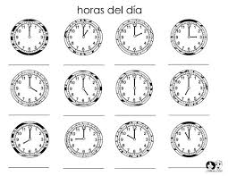time in spanish worksheet free worksheets library download and