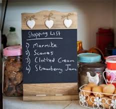 hanging ls for kitchen wooden chalk black board with heart memo notice kitchen hanging wall