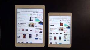 ipad air 2 black friday ipad air vs ipad mini 2 retina display web browser speed test