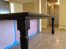 wooden legs for kitchen islands islander posts a choice for large kitchen island
