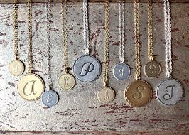 personalized pendants the market brocante personalized pendants