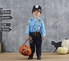 Police Halloween Costumes Kids Toddler Policeman Costume Pottery Barn Kids
