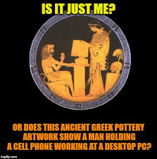 Funny Greek Memes - evidence of ancient aliens imgflip