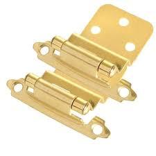 Cabinet Door Hinge Cabinet Hinges And Hardware Brushed Brass Hinge 3 8 Inset Cabinet
