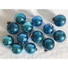 vintage hanukkah blue ornaments set of 13 chairish
