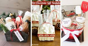 hot chocolate gift basket 25 breathtaking gift basket ideas for christmas that are sure to