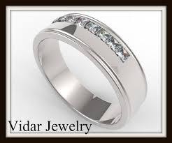 mens princess cut diamonds wedding ring vidar jewelry unique mens princess cut diamonds wedding ring vidar jewelry unique