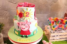 kara u0027s party ideas peppa pig 2nd birthday party