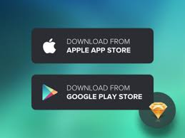 10 mobile app download app store google play button templates