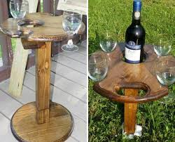 outdoor wine glass holder table indoor outdoor folding wine glass table with bottle holder and base