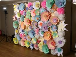 wedding backdrop of flowers paper flower wall wedding backdrop paper flower backdrop