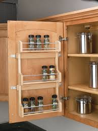 invigorating cabinets drawer sliding spice racks together with