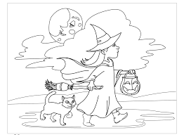 happy halloween coloring pages archives gallery coloring page