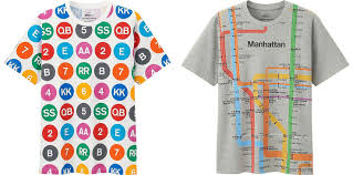Mta Nyc Subway Map by Uniqlo U0027s Nyc Subway Inspired T Shirt Collection Hits Stores 6sqft