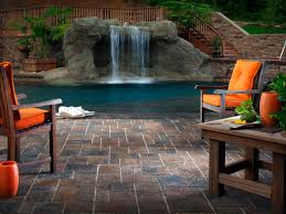 Pool Patio Furniture by Tips For Designing A Pool Deck Or Patio Hgtv