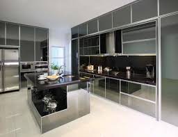 kitchen design aluminium carr semigloss steel finish profile n