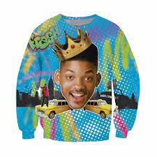fresh prince of bel air ugly christmas sweaters popsugar