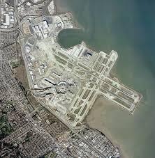 San Francisco Airport Map by Photograph San Francisco International Airport Sfo Aerial View
