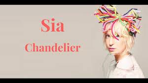 Lyrics Of Chandelier By Sia Sia Chandelier Lyrics Youtube