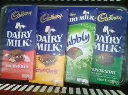 cadbury chocolate buried words and bushwa