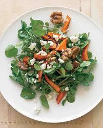 watercress salad with roasted sweet potatoes recipe salad