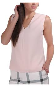light pink top women s ted baker womens ted baker womens dexi shoulder tuck top in crepe