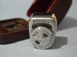 shoe light meter accessory shoe kodak retina kodalux l cased light meter nice 17 99