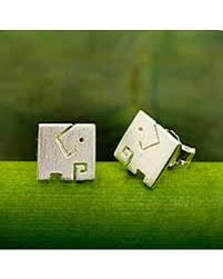 thailand earrings winter shopping special sterling silver stud earrings block
