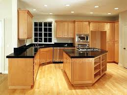 natural maple cabinets with granite natural maple cabinets with black granite countertops yurui me