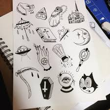 halloween halloween tattoo flash image inspirations colorful