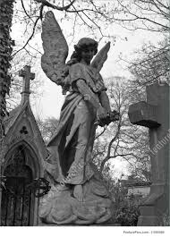 Angel Sculptures Picture Of Angel In Pere Lachaise Parisian Cemetery