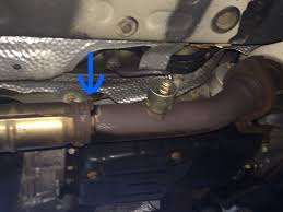 lexus isf exhaust australia rusted through mid pipe exhaust clublexus lexus forum discussion