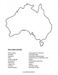 australia maps a to z teacher stuff printable pages and worksheets