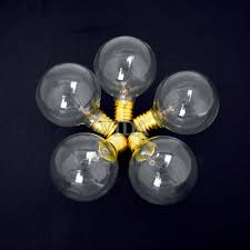 Commercial Patio String Lights by 100 Ft Outdoor Globe Patio String Lights 100 Sockets 125 Clear